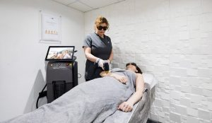 Soprano laser at UK clinic